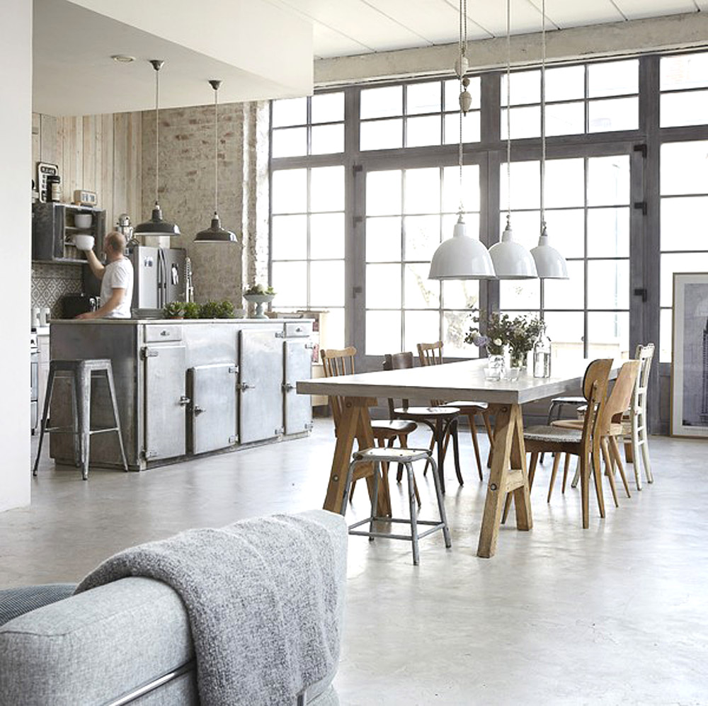 Tips para decorar con estilo industrial k mueble for Decoracion industrial