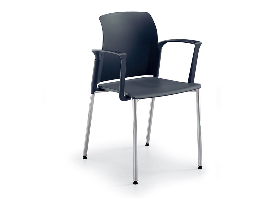 Silla de polipropileno class 106 0720b k mueble for Sillas de polipropileno