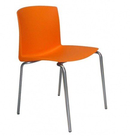 Silla de polipropileno pl 22 k mueble for Sillas de polipropileno