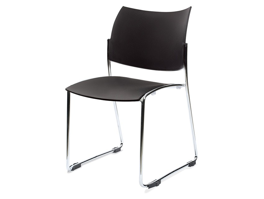 Silla de polipropileno volta al 3018 k mueble for Sillas de polipropileno