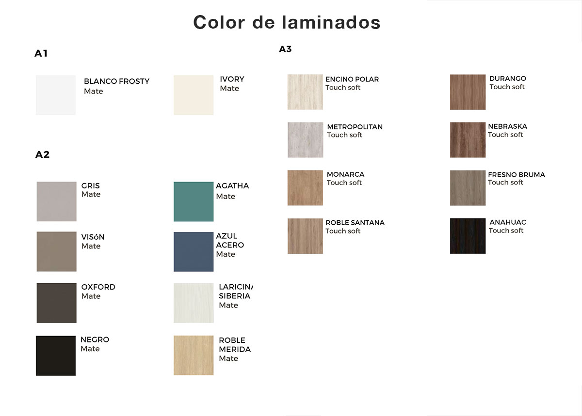Color laminados moetti 2019